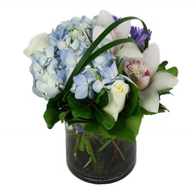 Stylish Blue Arrangement