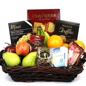 Fruit and Gourmet Basket